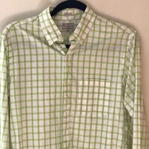 J. Crew Tops - J. Crew checkered button down work shirt in small
